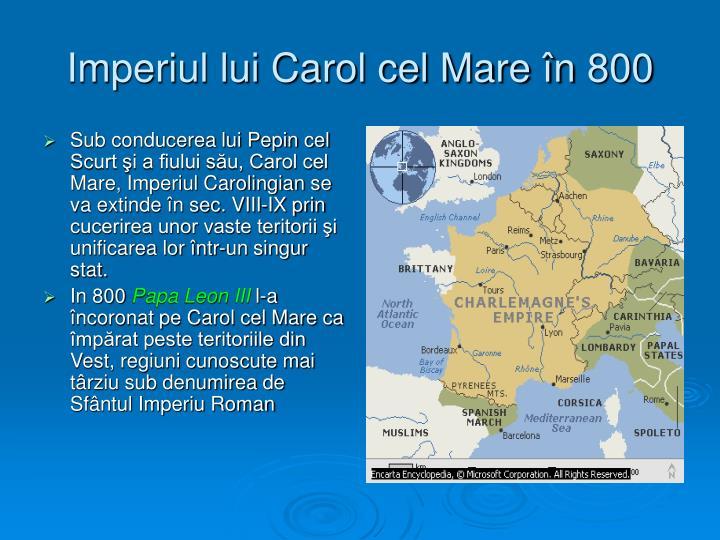 Imperiul lui Carol cel Mare în