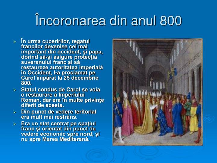 Încoronarea din anul 800