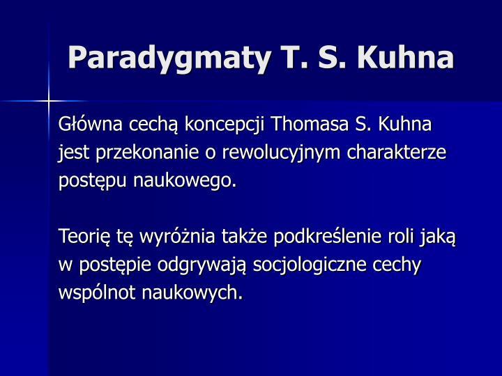 Paradygmaty T. S. Kuhna