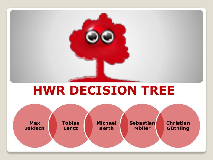 HWR DECISION TREE
