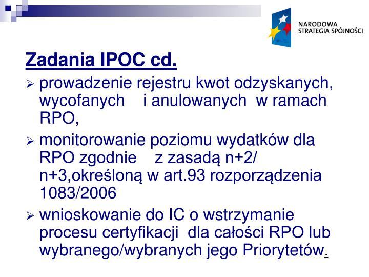 Zadania IPOC cd.
