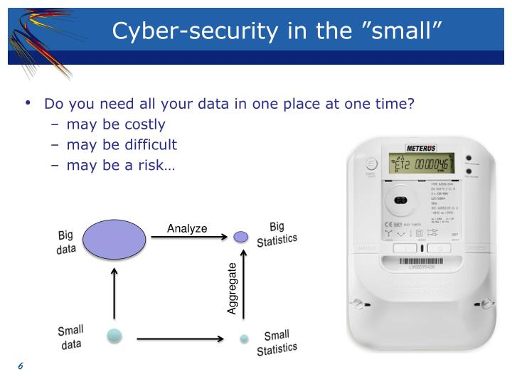 "Cyber-security in the ""small"""