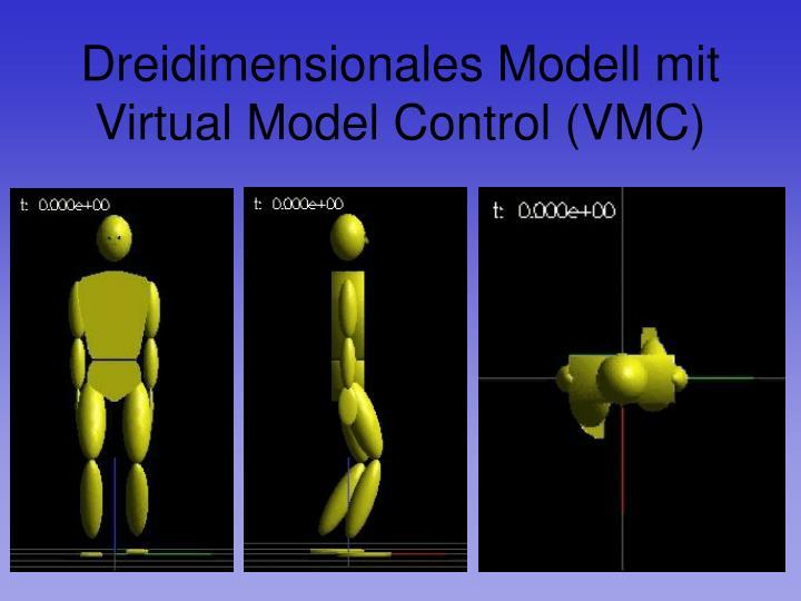Dreidimensionales Modell mit