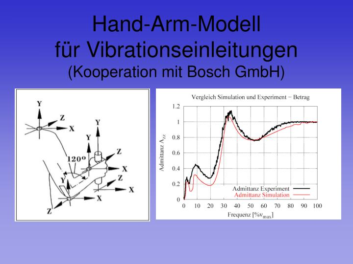 Hand-Arm-Modell
