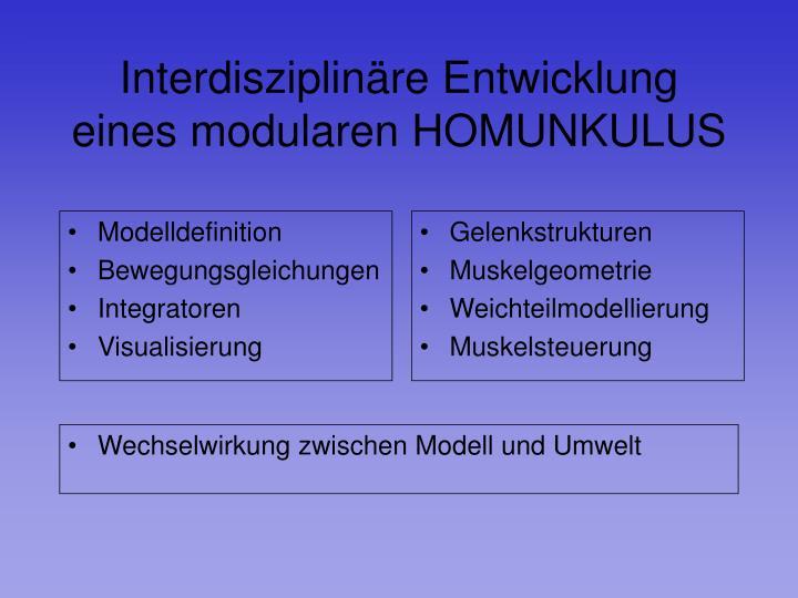 Modelldefinition
