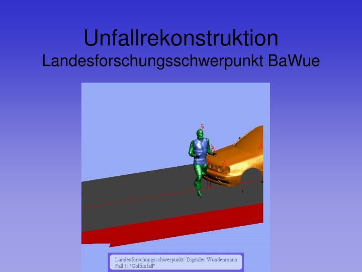 Unfallrekonstruktion