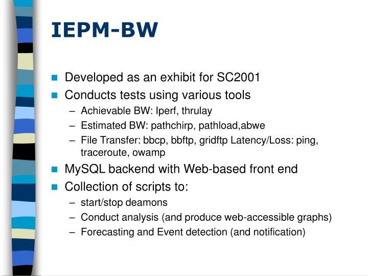 IEPM-BW