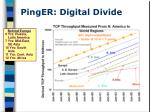 pinger digital divide