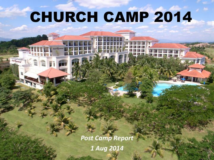 Church camp 2014