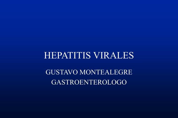 HEPATITIS VIRALES