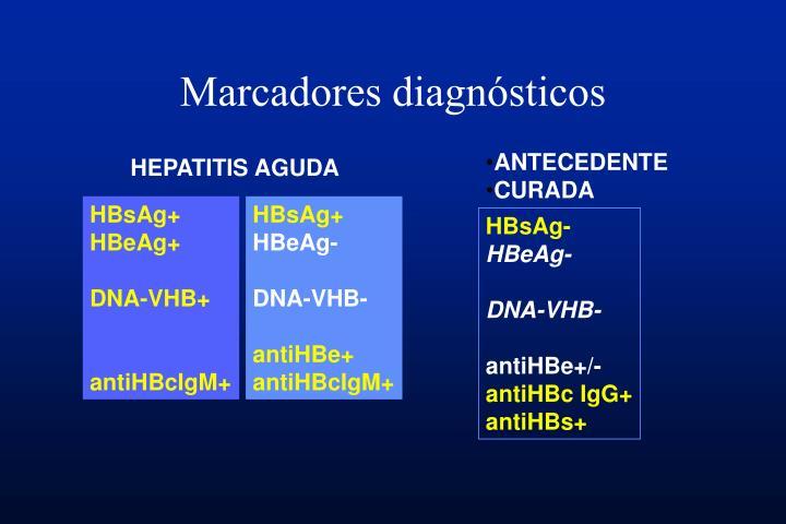 Marcadores diagnósticos