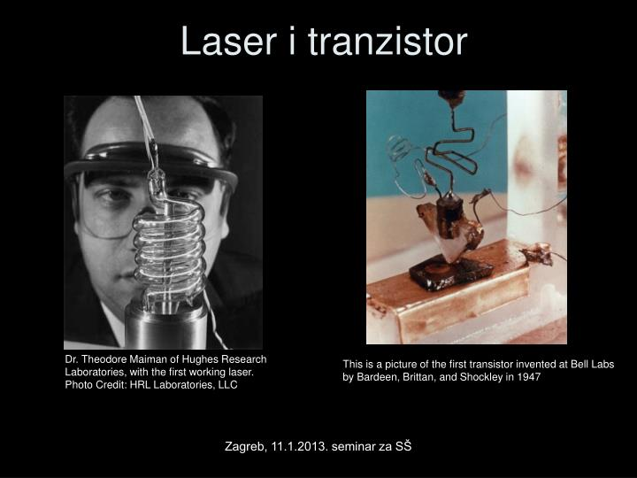 Laser i tranzistor