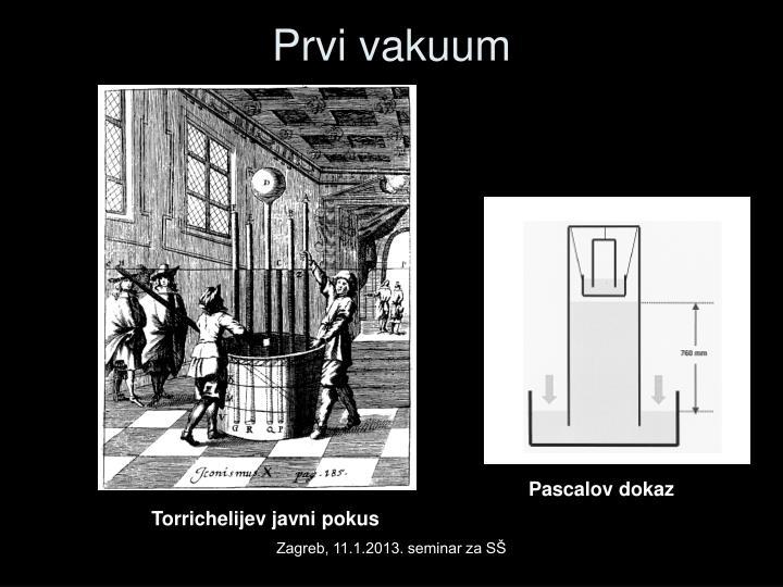 Prvi vakuum