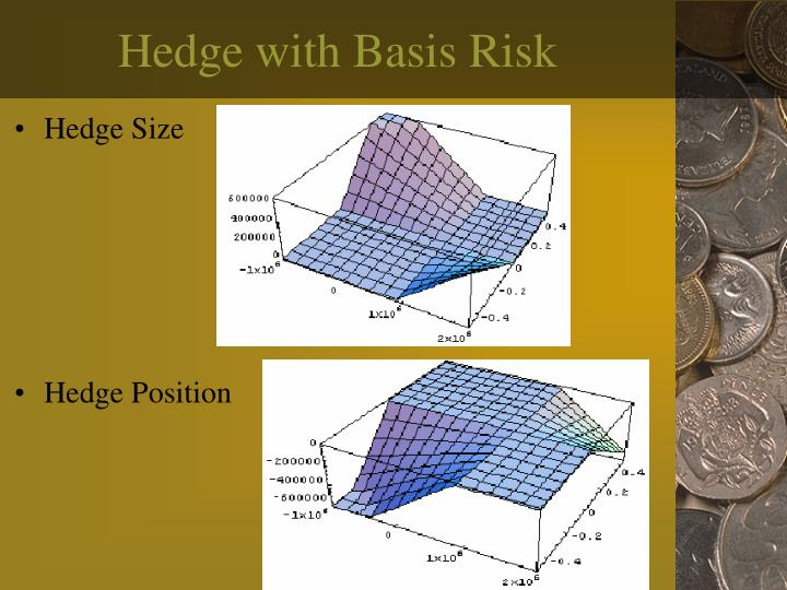 Hedge with Basis Risk