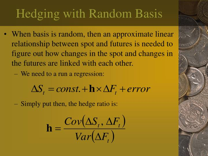 Hedging with Random Basis