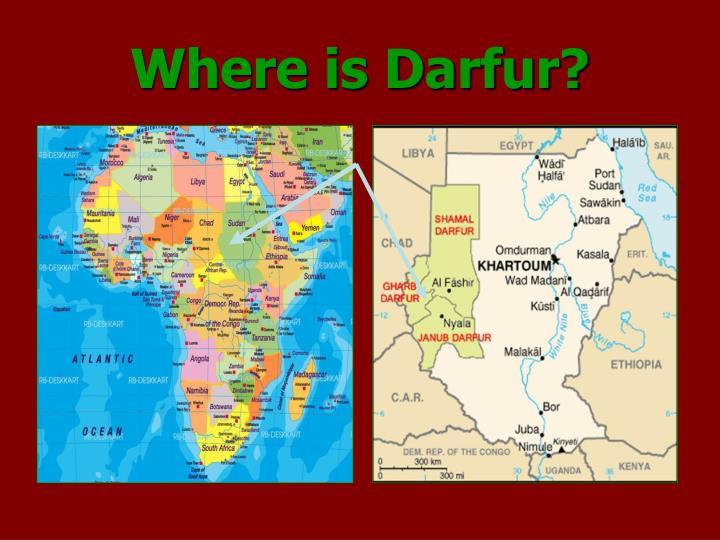 Where is Darfur?