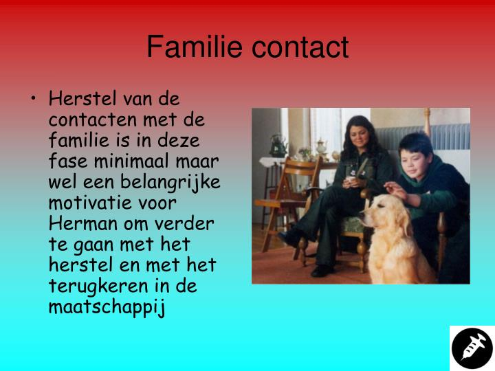 Familie contact