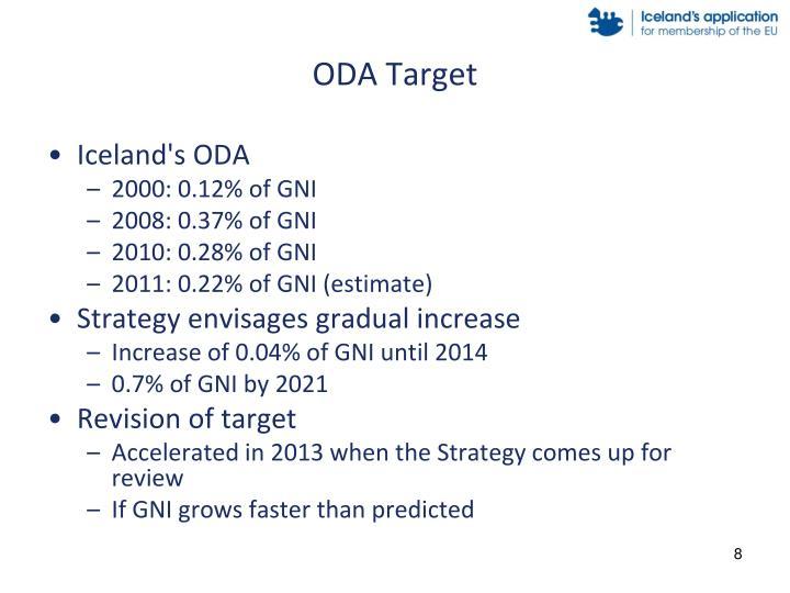 ODA Target
