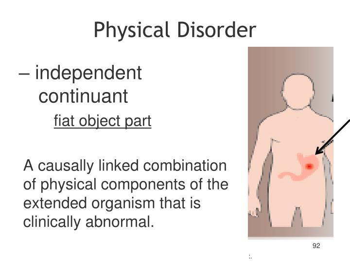 Physical Disorder