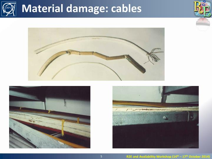 Material damage: cables