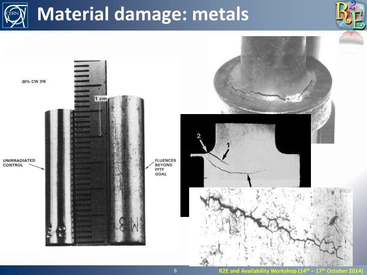 Material damage