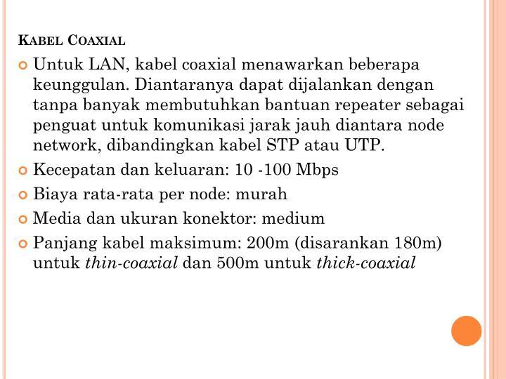 Kabel Coaxial