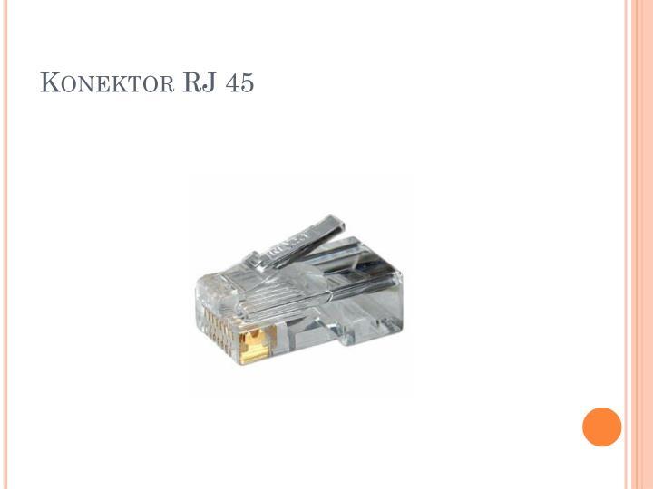 Konektor RJ 45