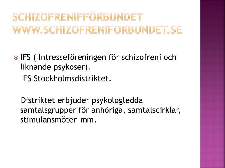 Schizofrenifförbundet