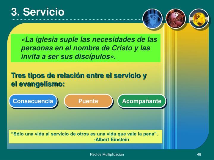 3. Servicio