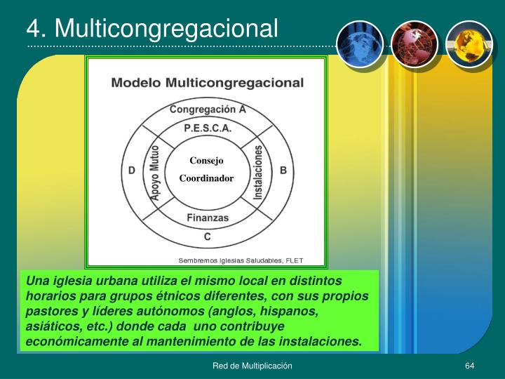 4. Multicongregacional