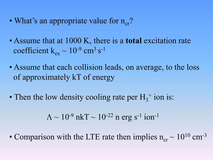 What's an appropriate value for n