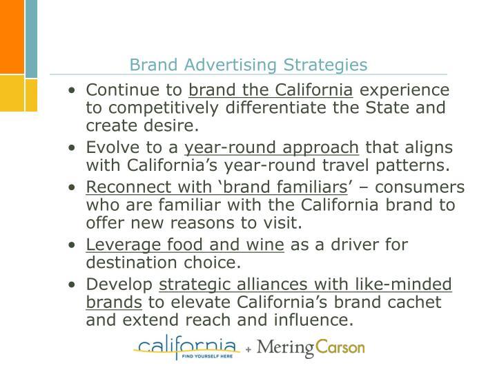 Brand Advertising Strategies