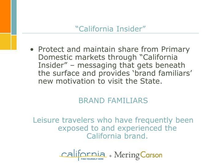 """""""California Insider"""""""