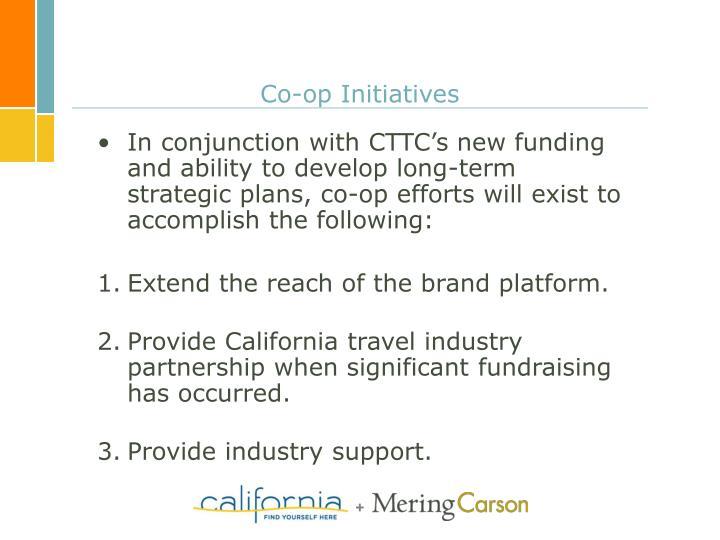 Co-op Initiatives