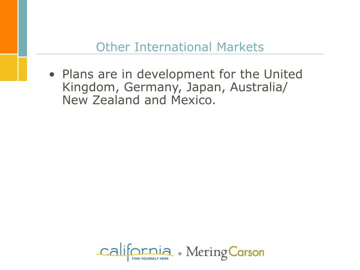 Other International Markets