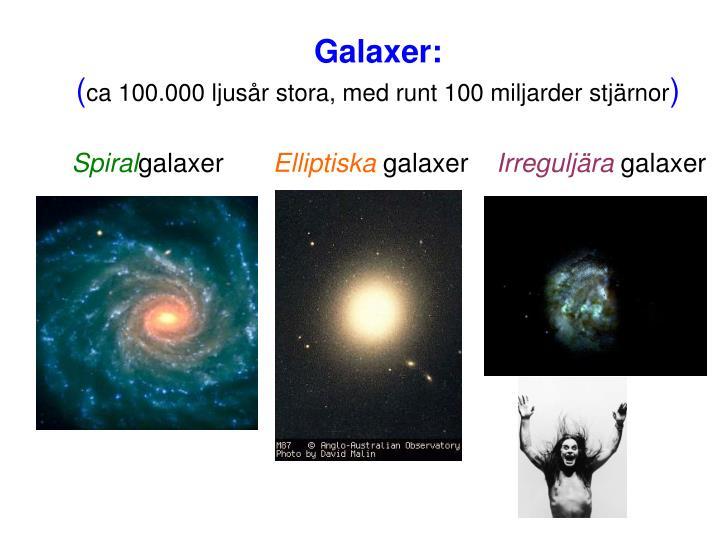 Galaxer: