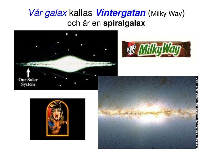 Vår galax