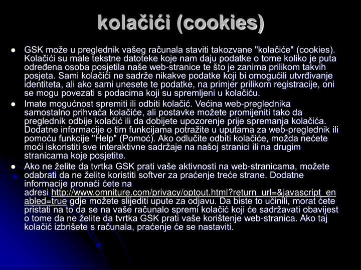 kolačići (cookies)