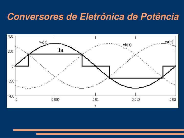 Conversores de Eletrônica de Potência