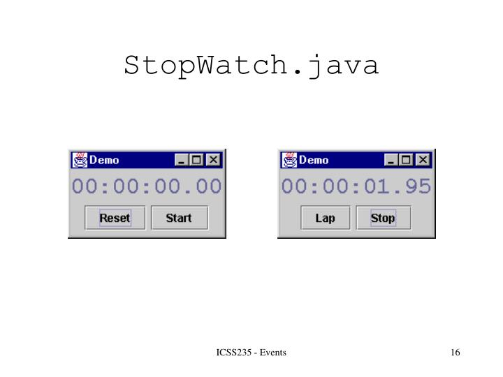 StopWatch.java
