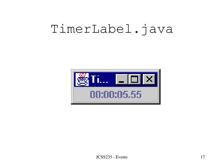 TimerLabel.java