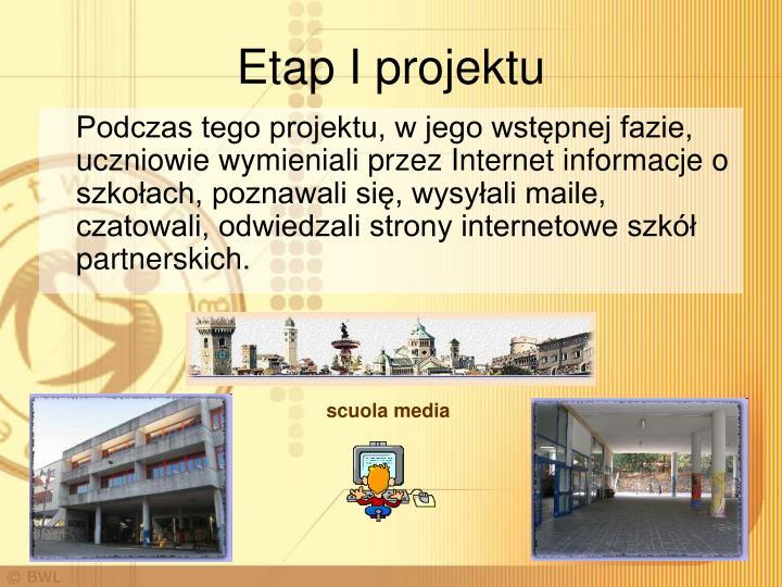 Etap I projektu