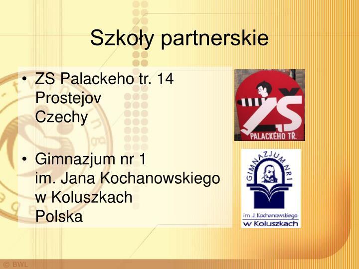 Szkoły partnerskie