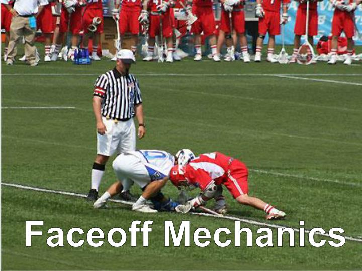 Faceoff Mechanics