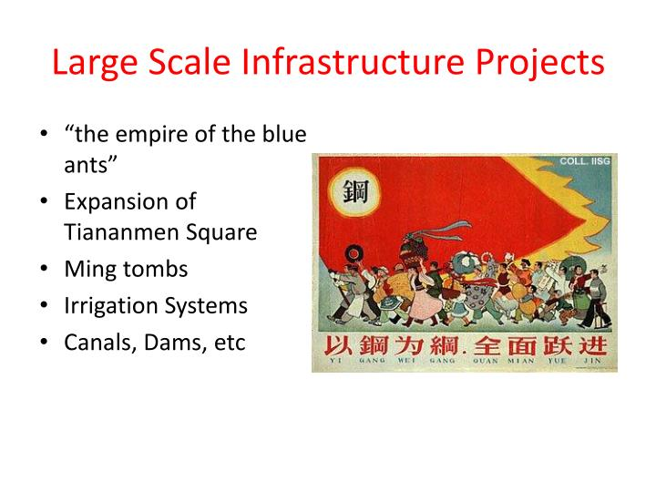 Large Scale Infrastructure Projects