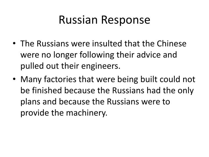 Russian Response