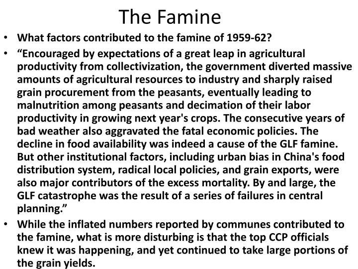The Famine