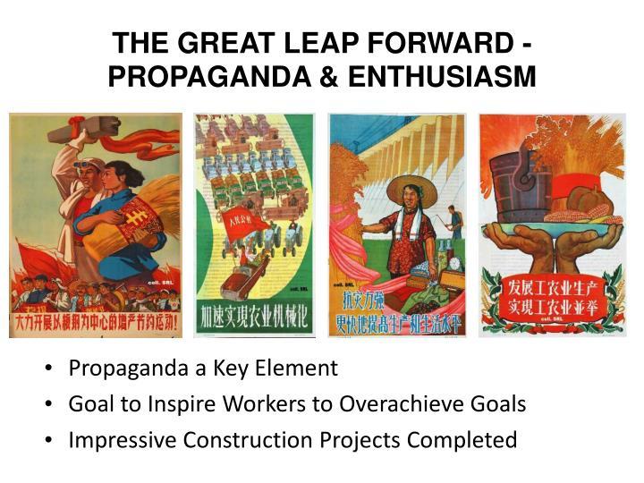 THE GREAT LEAP FORWARD - PROPAGANDA & ENTHUSIASM