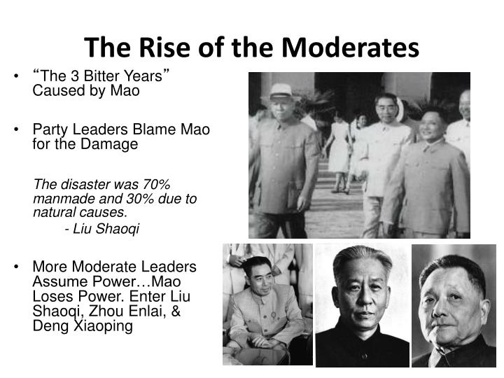The Rise of the Moderates
