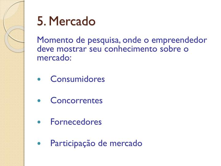 5. Mercado